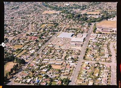 Negative: Aerial View Of Shirley Maximart