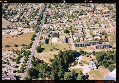 Negative: Aerial View Of Christchurch