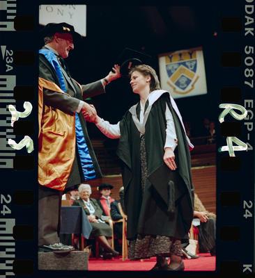 Negative: Lincoln University Graduation 1995