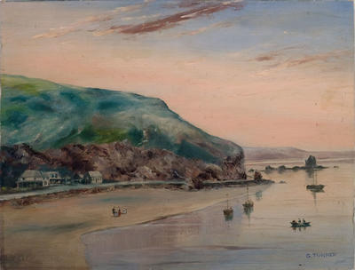 Painting: Clifton Hill, Sumner, 1858