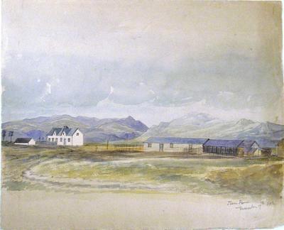 Painting: Ilam Farm