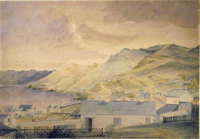 Painting: Port of Lyttelton