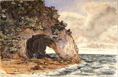 Painting: Near Amuri, N.Z