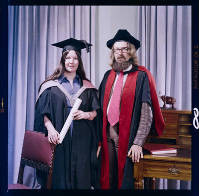 Negative: Dr Jackson And Wife Graduates