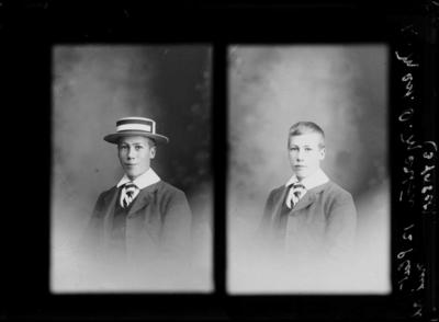 Glass Plate Negative: Owen Merton, CHRISTS COLLEGE