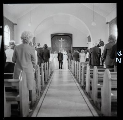 Negative: Grace-Bamford Wedding; 05 January 1974; 2019.10.30731