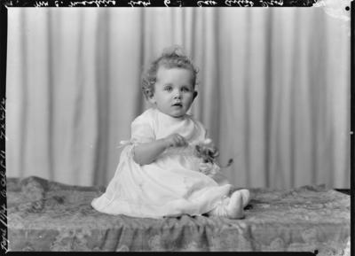 Glass Plate Negative: Joy Manhire