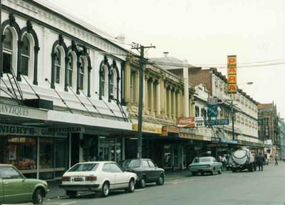 Colour Photograph: High Street, View South to Tuam Street, 1985