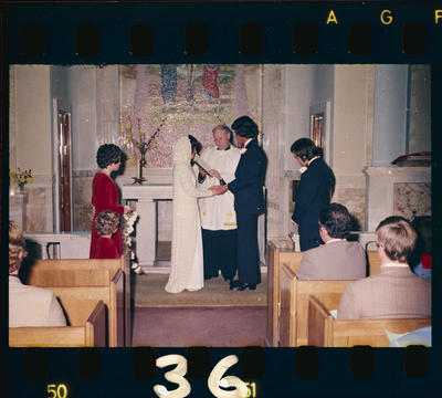 Negative: Sevele-McGregor Wedding; 03 July 1976; 2019.10.30990