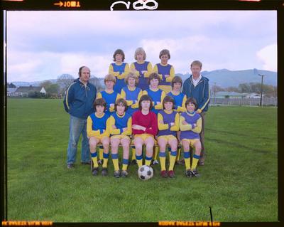 Negative: Woolston WMC Soccer Team 1976