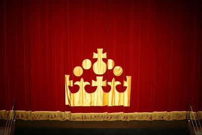 Digital Photograph: Theatre Royal Curtain 2007