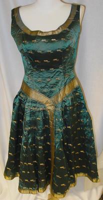 Dress: Thai silk