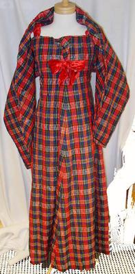 Dress: Tartan Seersucker
