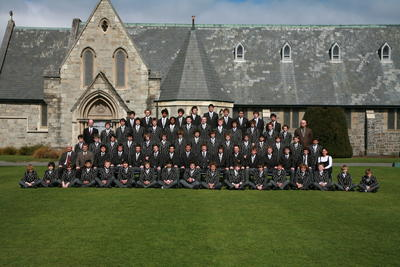 Digital Photograph: Christ's College Somes House 2006
