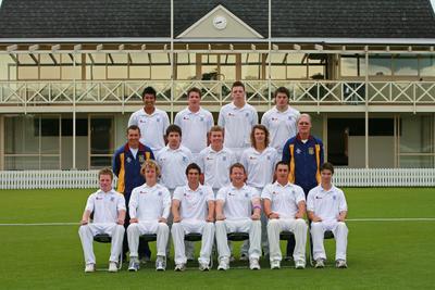 Digital Photograph: NZ U19 Cricket 2008