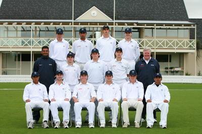 Digital Photograph: NZ U19 Cricket 2007