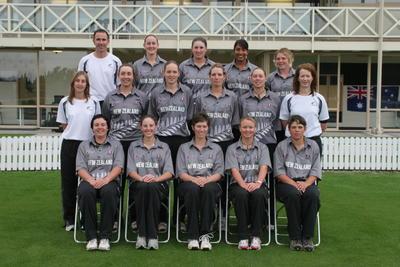 Digital Photograph: NZ Women's Cricket 2007