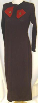 Dress: Brown