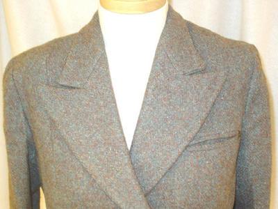 Coat: Harris Tweed