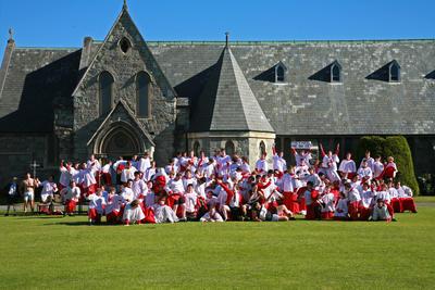 Digital Photograph: Christ's College Chapel Choir 2006