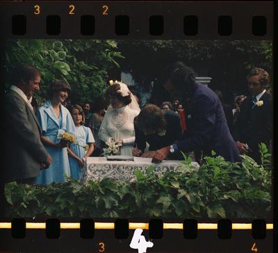 Negative: Waters-Tinker Wedding