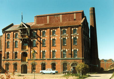 Colour Photograph: Wood's Flour Mills, Wise Street, 1985