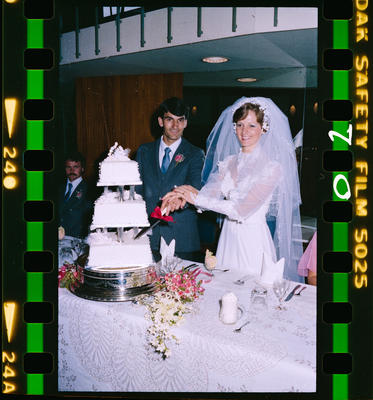 Negative: Pond-Forbes Wedding