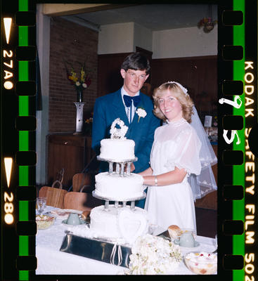 Negative: Erickson-Van Surksum Wedding