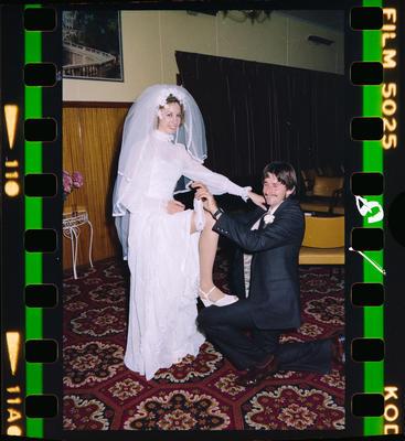 Negative: Eaton-Tabley Wedding; 24 April 1982; 2019.10.32069