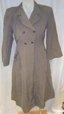 Coat: Gabardine