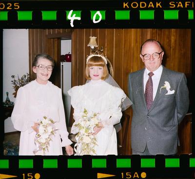 Negative: Stanley-Bishop Wedding