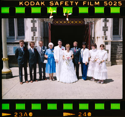 Negative: Agnew Wedding