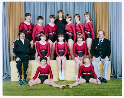 Negative: Canterbury Gymnastics Team 1983