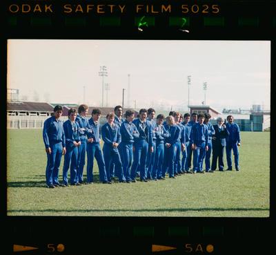 Negative: Penrith Schools Rugby League Team 1983