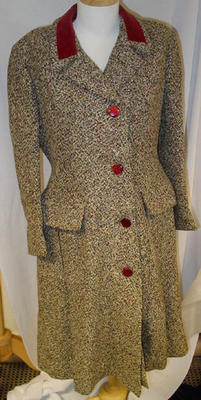 Overcoat: Tweed