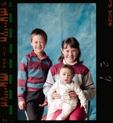 Negative: Owenga School Three Children
