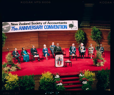 Negative: NZ Society Of Accountants 75th Anniversary Convention 1985