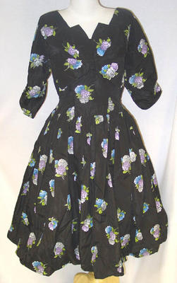 Gown: Hydrangea Print