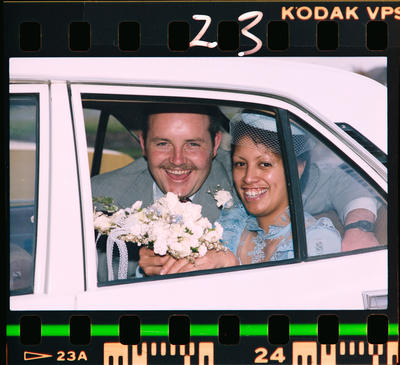 Negative: Batten-Hoet Wedding