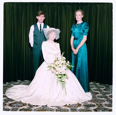 Negative: Birt-Scott Wedding