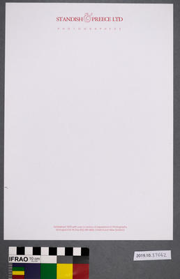Paper: Standish And Preece Letterhead