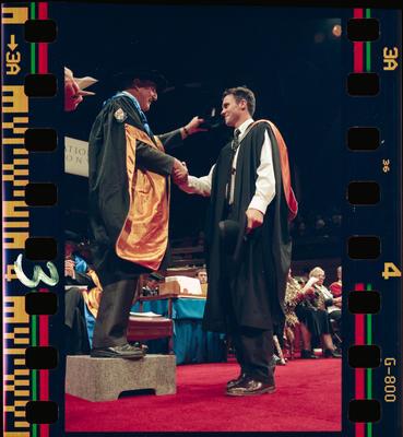 Negative: Lincoln University Graduation 1999