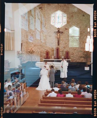 Negative: Stokes-Washington Wedding; 16 November 1985; 2019.10.34239
