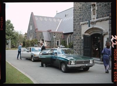 Negative: Clifford-Wood Wedding; 04 April 1986; 2019.10.34372