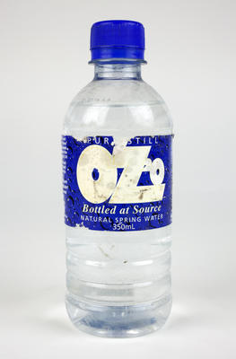 Bottle: OZ2O Water