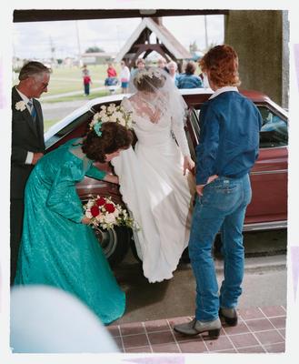 Negative: Radford-Chambers Wedding; 31 March 1986; 2019.10.34502