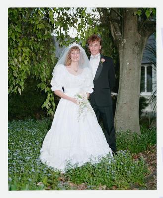 Negative: Anthony-Burrows Wedding