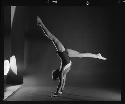Negative: Unnamed Child Canterbury Gymnastics Association Poster Shot