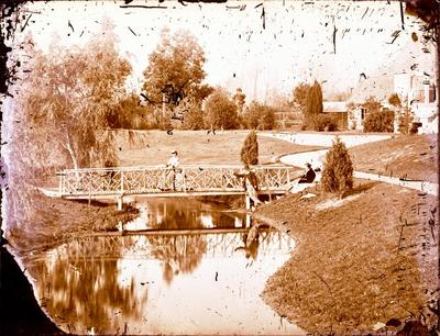 Glass Plate Negative: Ilam Homestead