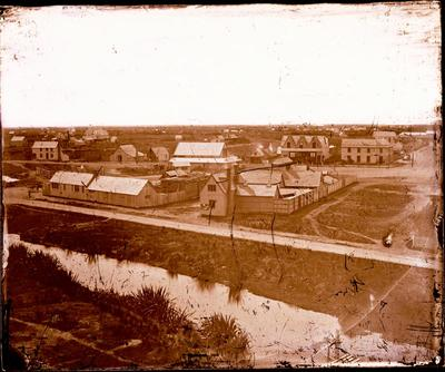 Glass Plate Negative: Panorama